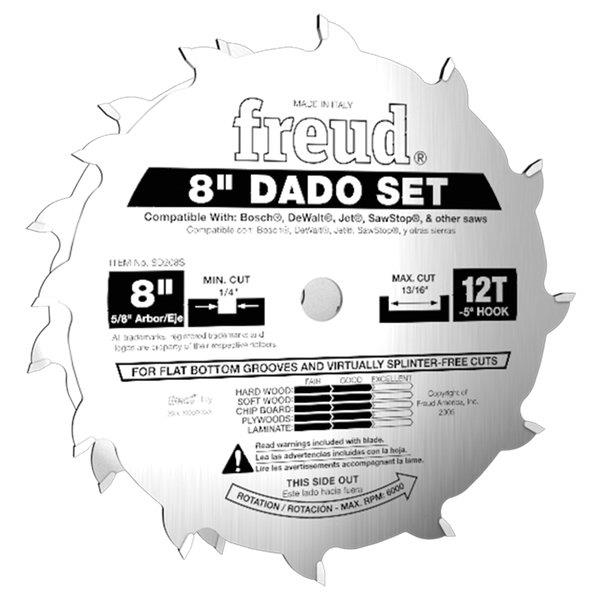 Stacked Dado Trenching Set Freud Woodworksupplies Com Au