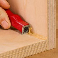 Mighty Mini Scraper Square Optional Blade - Woodpeckers