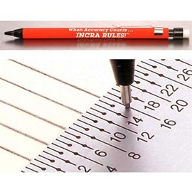 Mechanical Pencil for Incra Rules