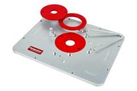 Aluminium TLR  Router Plate Blank- Triton - Woodpeckers
