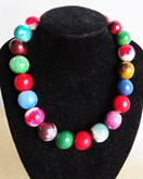 Pinewood Necklace Rainbow Drops