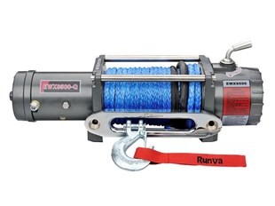 RUNVA EWX9500Q 12V - with Synthetic Rope