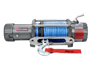 RUNVA EWX12000 12V - with Synthetic Rope