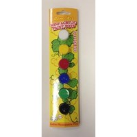 Mini Acrylic Paint Set of 6 (Bright Primary Colours)