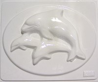 Mould 3222 - Dolphins