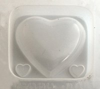 Assorted Hearts Resin Jewellery Mould    RM 1662