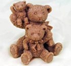 R0500 Soap Silicone Mould - Teddy's Family