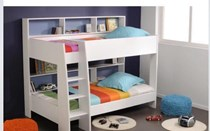 Bunk Bed single with Storage White NEW IN BOX LIMITED STOCK !!