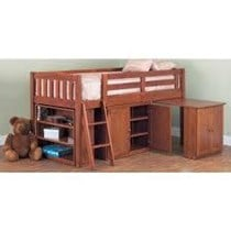 Mini sleeper single bed in teak or white NEW IN BOX