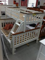 Bunk bed double single TWO TONE OR white SOLID NEW
