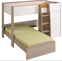 Loft single bunk two tone NEW DESIGN FRENCH MADE !! LIMITED PRICE