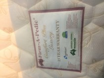 Mattress Queen firm A Pedic 100% Aussie Made NEW 15 Yr