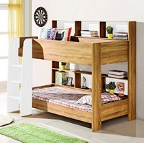 Bunk Bed KING single with Storage NATURAL NEW DESIGN  IN BOX LIMITED STOCK