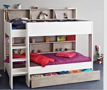 single bunk with storage MADE FRANCE NEW DESIGN