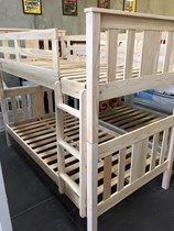 King single bunk bed NEW DESIGN SOLID seashell finish
