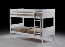Bunk bed single SOLID Maple Or White NEW