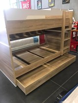 King single bunk with king single trundle plus shelf very solid New Design