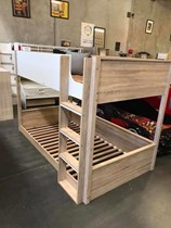 Bunk Bed KING single NATURAL NEW DESIGN IN BOX LIMITED STOCK Bargian !!