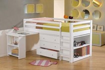 Bunk Bed Single With Trundle Solid New Goingbunks Biz