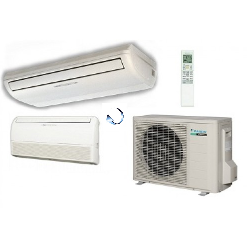 daikin standard inverter flxs50b 5kw wall or ceiling mounted split air conditioning system. Black Bedroom Furniture Sets. Home Design Ideas